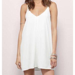Dresses & Skirts - ISO Tobi White Cami Dress